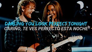 Perfect Duet   Ed Sheeran With Beyoncé (InglesEspañol)