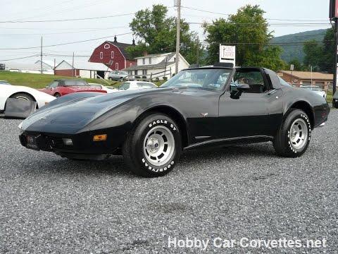 1979 Black Corvette L82 T Top Video