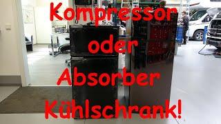 WCS Goch: Kompressor- oder Absorber Kühlschrank?!