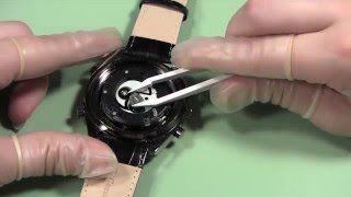 How to Replace 2 Stacked Watch Batteries