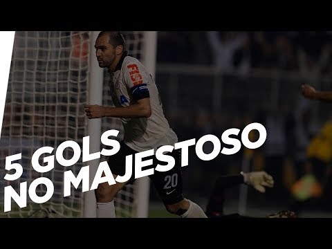 5 gols do Corinthians no Majestoso no Pacaembu