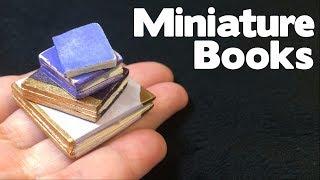 DIY Miniature Handmade Books