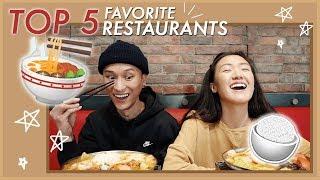 Our TOP 5 Favorite Restaurants in 626   WahlieTV EP634