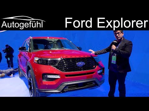 2020 Ford Explorer REVIEW with all-new RWD platform Limited, ST and Police Interceptor