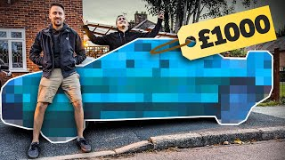 £1000 First Project Car Challenge by Car Throttle