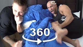 CRAZY 360 WAXING PRANK!!