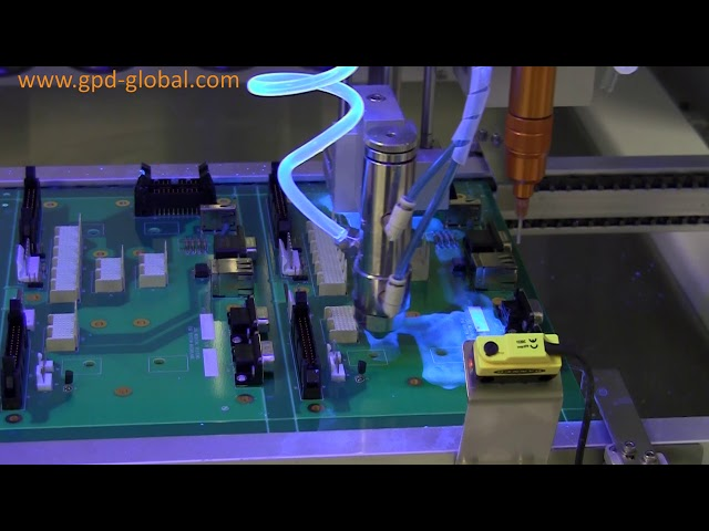 Watch this conformal coating demonstration of the Spray Valve and Volumetric Pump in action on the SimpleCoat system.
