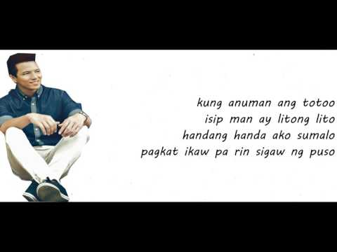 dating ikaw lyrics and song