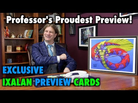 MTG – Professor's Proudest Preview! Exclusive Ixalan Preview Cards for Magic: The Gathering