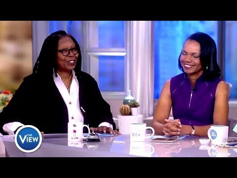 Condoleezza Rice Weighs In On Hope Hicks & TRUMP/Gun Reform (The View)
