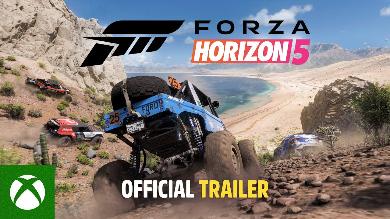 Trailer di Forza Horizon 5