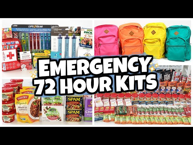 "30 Items We Keep In Our 72 HOUR ""BUG OUT"" BAGS"