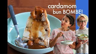 Rachel Khoo's Cardamom Bun Bombe! - Recipe From 'The Little Swedish Kitchen'