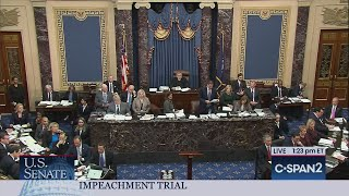 U.S. Senate: Impeachment Trial (Day 2)