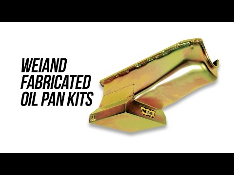 Weiand Fabricated Oil Pans
