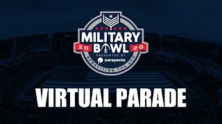 2020 Military Bowl Virtual Parade