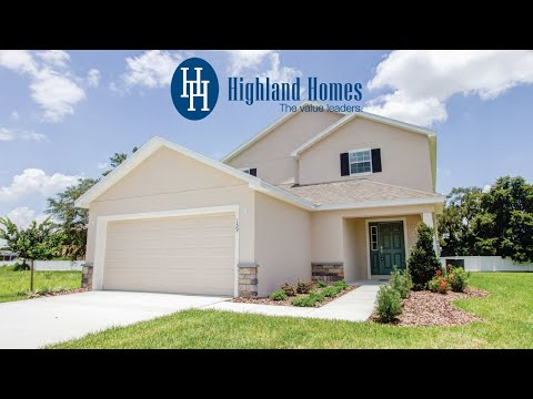 Tristen II home plan by Highland Homes - Florida New Homes for Sale