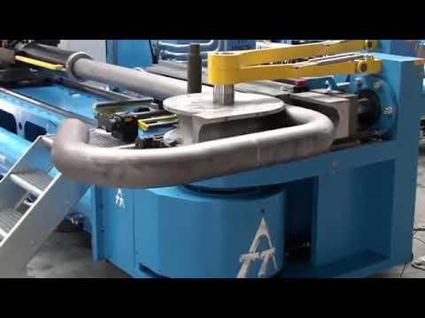 Máy uốn ống và quy trình uốn uống thủy lực