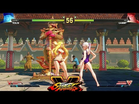 Street Fighter 5 mods Cammy Millitary Academy - смотреть