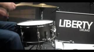 Liberty Drums 13 x 6.5 Jacobean Oak Snare