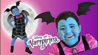 Disney Junior Vampirina Makeup Makeover Halloween 2018