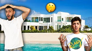 I MOVED INTO FaZe RUG'S $5,000,000 BEACH HOUSE!!