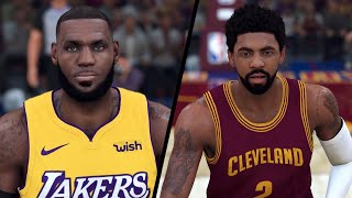 NBA 2K20 - Los Angeles Lakers vs. '15-'16 Cleveland Cavaliers - Full Gameplay