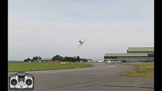 Learning figure 8's - RC heli flight school v1.1