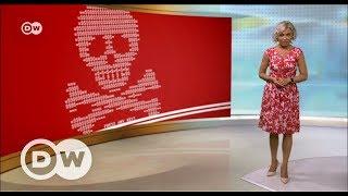 """Можно ли защититься от вымогателя """"Пети"""" и ему подобных - DW Новости (28.06.2017)"""