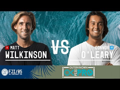 Matt Wilkinson vs. Connor O'Leary - FINAL - Outerknown Fiji Pro 2017