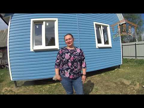 Бушнякова М.В. - видеоотзыв о строительстве