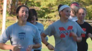 Montville's soccer sisters