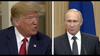 President Donald Trump EXPLOSIVE Press Conference with Putin On Russian Collusion in the Election