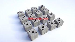 Штекерные соединители для алюминиевой квадратной трубы