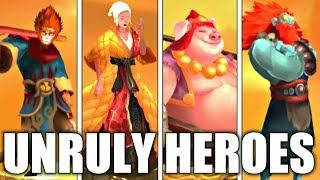 Unruly Heroes! 🐵🐷🕹🎮