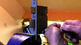How to Pick a British Standard Euro-Spec Mortice Lock