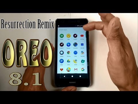 Stable Oreo 8 1 For Huawei P9 (Resurrection Remix v6 0
