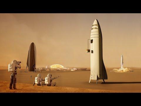 Co bude SpaceX dělat na Marsu?