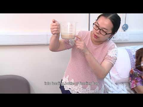 影片: Gastric tube feeding and related care