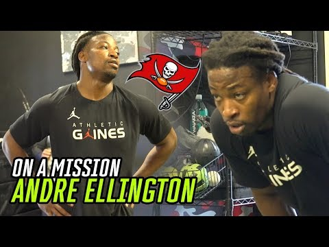 """""""Not Playing Last Year Kept Me HUNGRY."""" Bucs RB Andre Ellington Isn't Taking ANYTHING For Granted!"""
