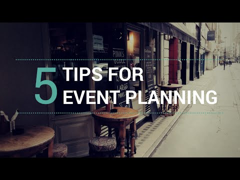 , title : '5 Tips for Small Business Event Planning