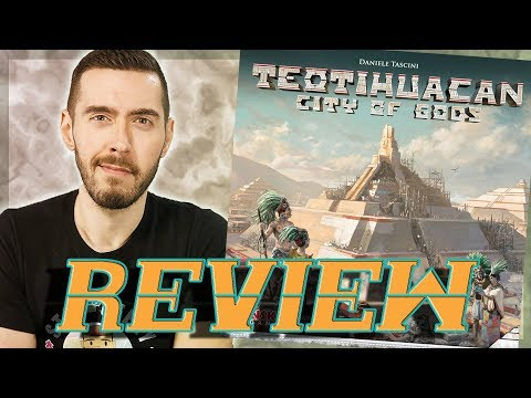 Review: Teotihuacan: City of Gods from NSKN Games