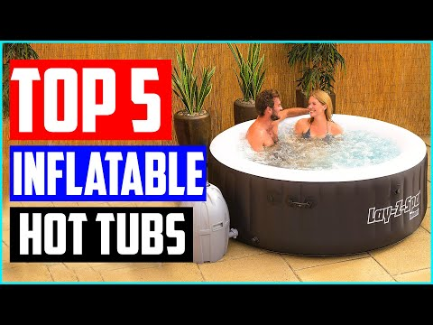 Top 5 Best Inflatable Hot Tubs in 2020 Reviews