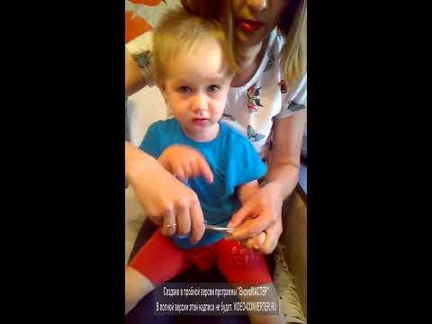 Как правильно стричь ногти ребенку
