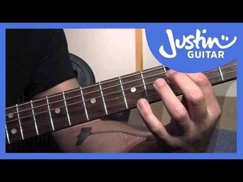 Guitar Chord Extensions - 9th and 13th Chords - Blues Rhythm Guitar Lessons [BL-206]