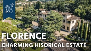 Charming historical estate in Florence | Tuscany, Italy - Ref. 4146