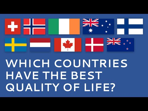 Video Countries with the Best Quality of Life