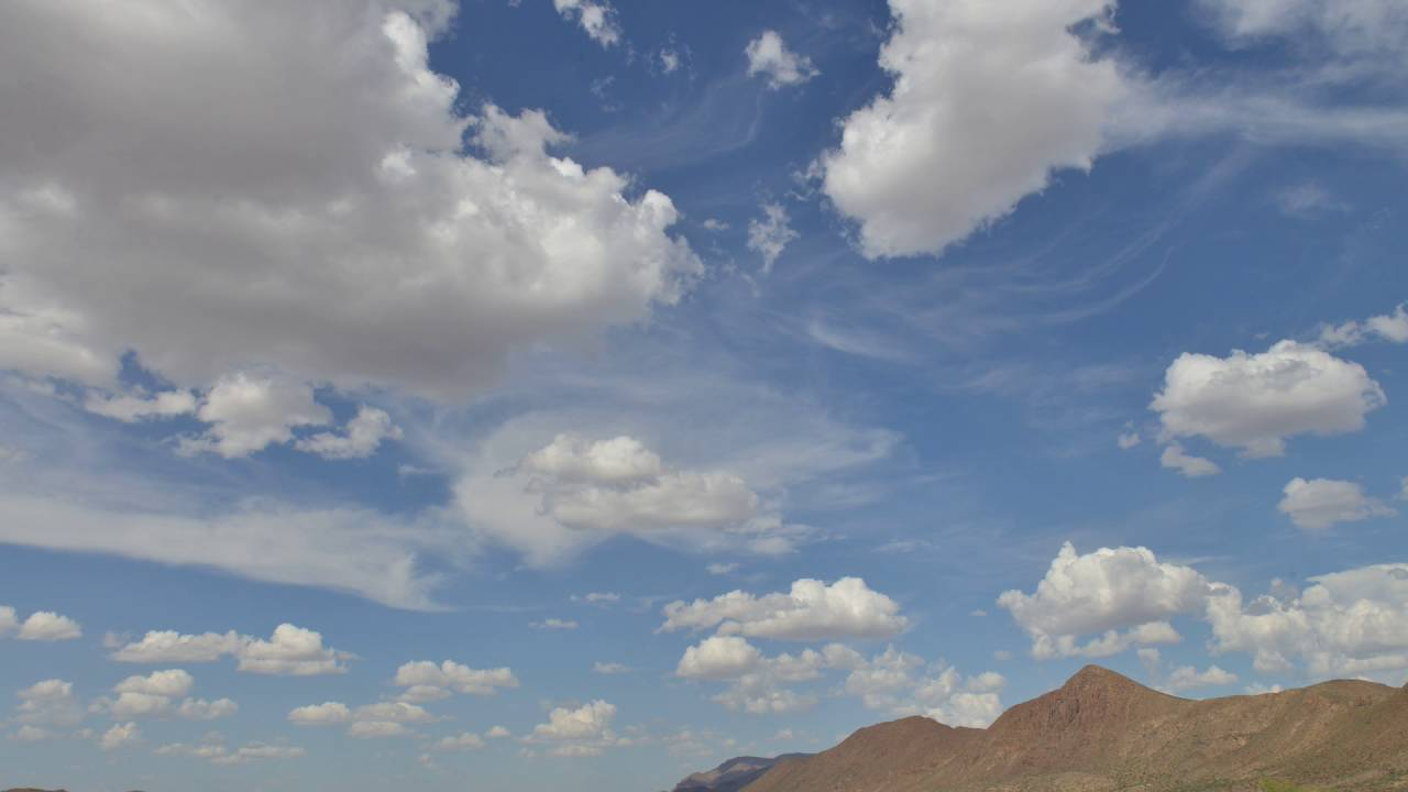 2 Minute Time Lapse of afternoon clouds