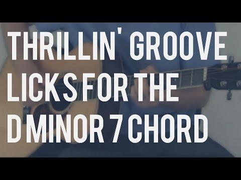 Blues Licks for the D Minor 7 (Dm7) Chord   TB104