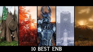 Skyrim - Top 10 Best ENB of All Times - 2017 Comparison